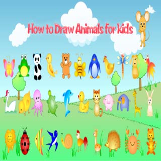 How to draw Animals - Learning Videos for Kids