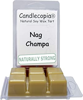 Candlecopia Nag Champa Strongly Scented Hand Poured Vegan Wax Melts, 12 Scented Wax..