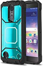 Phone Case for [LG Rebel 4], [Alloy Series][Blue] Shockproof [Military Grade] Aluminium Metal Plate Cover for LG Rebel 4 (Tracfone, Simple Mobile, Straight Talk, Total Wireless, Net10)