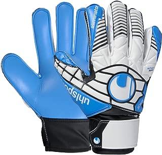 uhlsport Eliminator Soft SF Junior Gloves [White/BK/EB] (4)