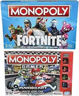 Monopoly Gamer Mario Kart And Monopoly Fortnite Edition Board Game Bundle