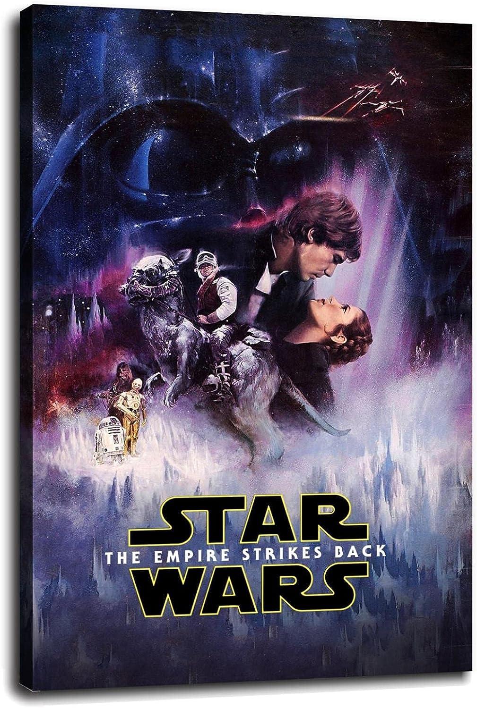 Free Shipping New Psdin Star War Nippon regular agency Episode V - Strikes Empire The Back Canvas Poster