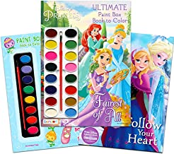 Paint with Water Super Set for Girls Kids Toddlers -- Bundle Includes 3 Deluxe Paint Books with Paint Brushes (Featuring Disney Princess, Strawberry Shortcake and Disney Frozen)