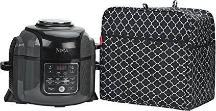 NICOGENA Pressure Cooker Dust Cover Compatible with Ninja Foodi 6.5 Quart And 8 Quart Pressure Cooker, Front Pocket for Ac...