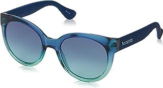 هافاياناس نظارة شمسية Noronha/M للنساء , DKGRNBLUE, 52 mm