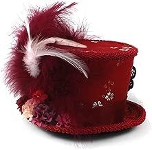 Rojo Sombrero de Copa VCB Diadema navide/ña Adornos navide/ños Art/ículos de Fiesta Regalos para ni/ños Adultos