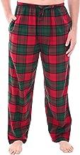 Alexander Del Rossa Men's Lightweight Flannel Pajama Pants, Long Printed Cotton Pj Bottoms
