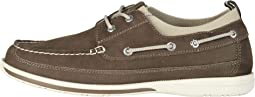 Homer Smart Series Leather Boat Shoe with Smart 360 Flex and NeverWet