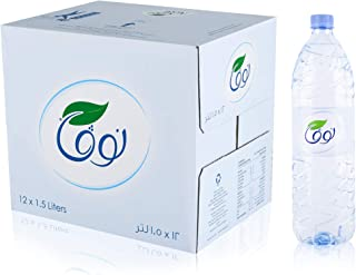 Nova Bottled water, 12X1.5 Ltr