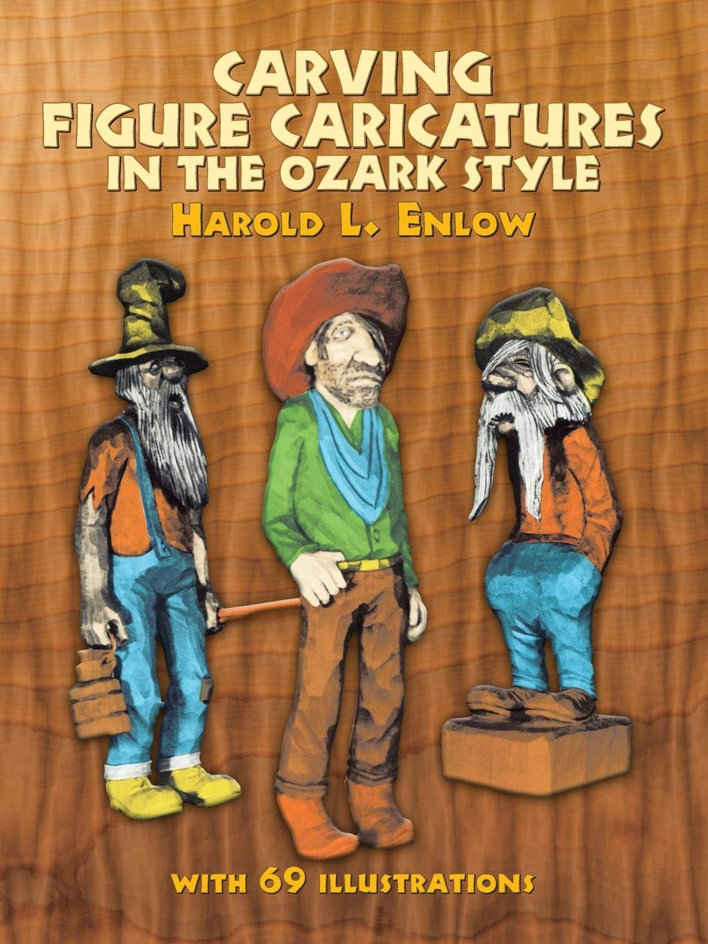 Caricature Wood Carving Book Patterns Tips SALE //Ekern