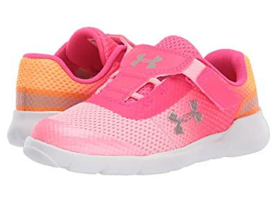 Under Armour Kids UA Inf Surge Running (Toddler) (Pop Pink/Pinkadelic/Metallic Rose Gold) Girls Shoes