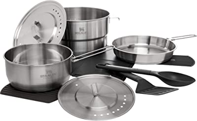 Stanley Even Heat Camp Pro Cookset - Best Camping Cookware For Family