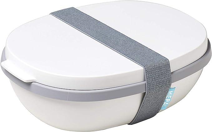 22.5 x 17.5 x 9.5 cm Mepal salatbox Ellipse Insalatiera Denim Nordic 2 unit/à