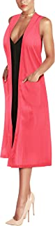 Best pink sleeveless duster Reviews