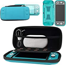 Carring purses Case for Nintendo Switch Lite game console Portable Travel Carry Storage multi-function Bag Case with Tempe...