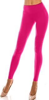 Women's Premium Cotton High Waisted Activewear Soft Capri Leggings Bermuda Shorts & Jogger Track