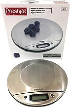 مقياس وزن رقمي للمطبخ من بريستيج - لون فضي