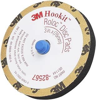 3M Hookit Roloc Disc Pad Type J 82567, 3 in, 1 per case