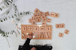 Wooden Learning Resources- Math board