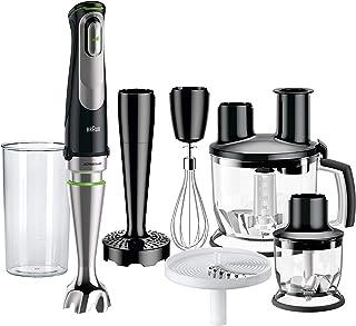 Braun | MultiQuick 9, Hand Blender & Food Processor | MQ9087X | Stick Blender with Multiple Attachments | Black