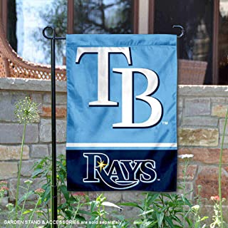 WinCraft Tampa Bay Rays Double Sided Garden Flag