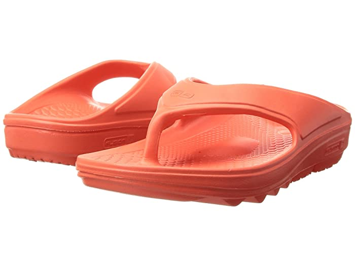 Spenco  Fusion II (Hot Coral) Womens Sandals