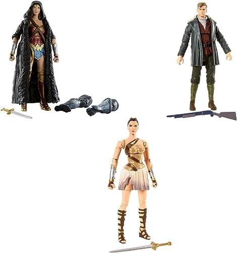 DC Multiverse Action Figuren von Mattel. Iconic Set von 3  multiversum Wonder Woman Action Figuren für die Wahre Fan.