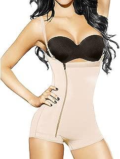 Women Body Shaper Seamless Tummy Control Shapewear Open Bust Slimmer Belly Bodysuit