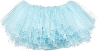 Little Girls 10-Layer Short Ballet Tulle Tutu Skirt (4 mo. - 3T)