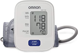 Omron Basic Upper Arm Automatic Blood Pressure Monitor