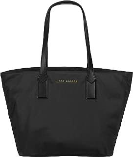 Marc Jacobs Womens Nylon Tote Handbag - Black (Size 1SZ)