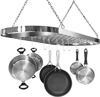 Best overhead pan holder Reviews
