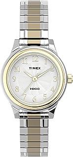 Timex Womens Quartz Watch, Analog Display And Stainless Steel Strap - TW2U09200
