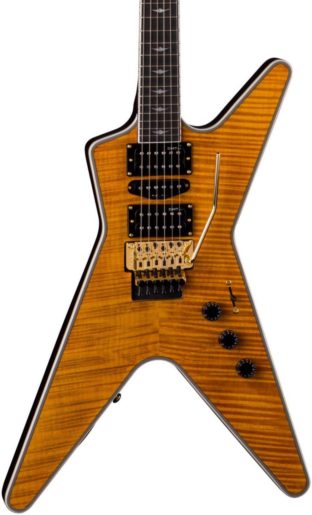Cheap Dean ML SB F TAM Solid-Body Electric Guitar Trans Amber Black Friday & Cyber Monday 2019