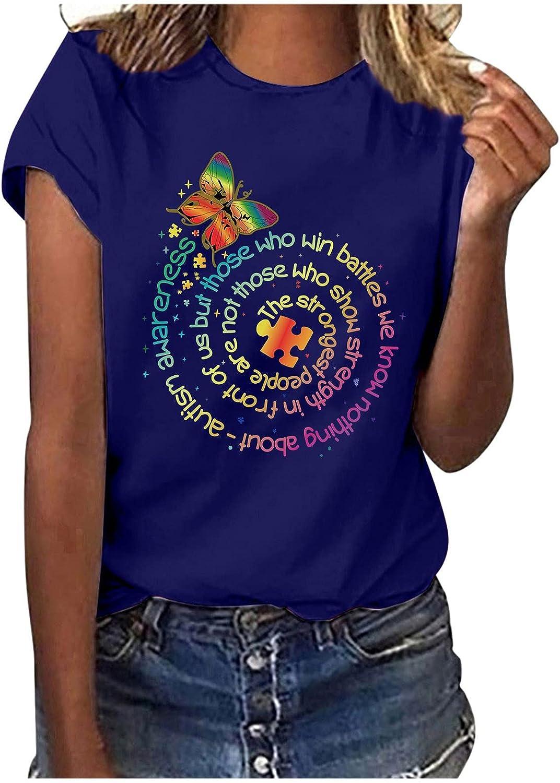 ZSWWang Womens Summer Minneapolis Mall Tops Blouse trend rank Teen Short Girls Sleev T-Shirt