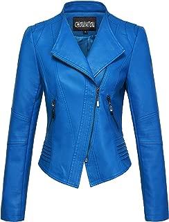 Best blue pleather jacket Reviews