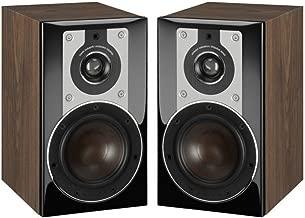 Dali Opticon 1 2-Way Compact Bookshelf Speakers (Pair, Light Walnut)