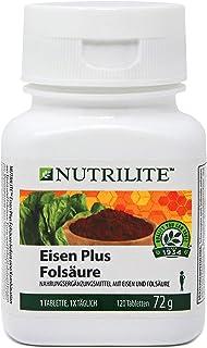 Järn plus folsyra NUTRILITET: - 120 tabletter/72 g - Amway - (Artikelnummer: 100295)