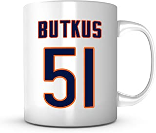 Dick Butkus Mug - Jersey Number Football Coffee Cup