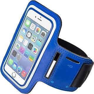 Funda Deportiva para iPhone 7 Plus/iPhone 7s Plus. Correa/Banda de Brazo para Correr o Hacer Deporte. Disponible en Color Negro, Azul, Rojo y Rosa (Color Azul)