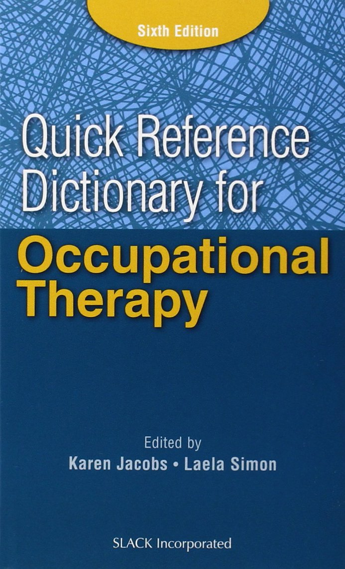 Reference Dictionary Occupational Therapy Jacobs