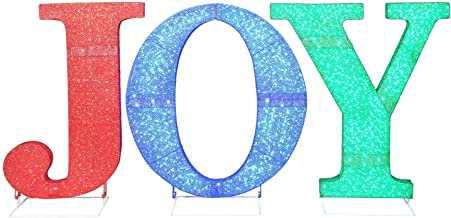 Best lighted joy yard sign Reviews