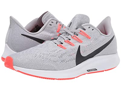 Nike Air Zoom Pegasus 36 (Wolf Grey/Black/White/Bright Crimson) Men