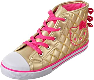 Hello Kitty Lil Elena Girls Toddler HIGH-TOP Fashion Sneakers