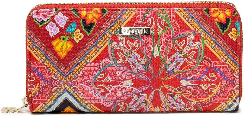 Desigual Women's 19SAYP58RED Red Polyurethane Wallet