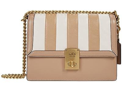 COACH Colorblock Quilted Hutton Shoulder Bag