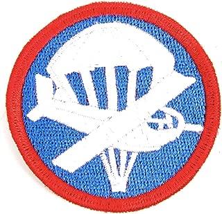 U.S. WWII Garrison Cap Badge Patch- Paratrooper Glider