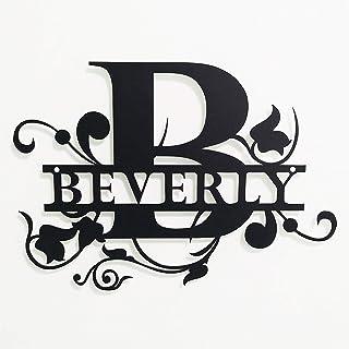 /& MRS DAVIS Family Name Sign Home Chic Decor Gift BP0173 America Flag MR