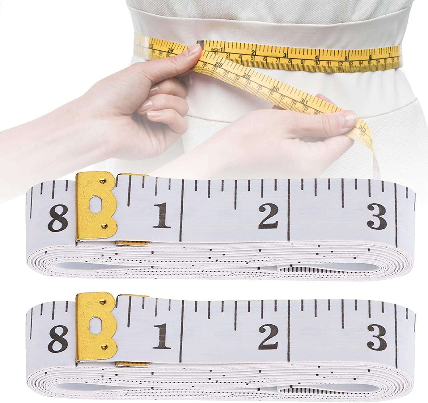 Super intense SALE Soft Measuring Tape Curved 2.0cm300cm White Tailor Charlotte Mall Surface
