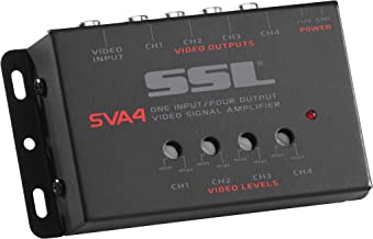 Sound Storm Labs SVA4 Video Signal Amplifier Single Source in Four Outputs